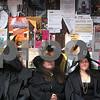 Salem: Scenes along Pedestrian Mall during Halloween in Salem. Photo by Mark Lorenz/Salem News