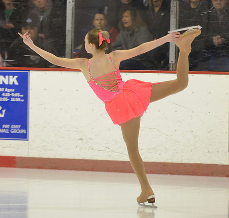 Peabody: Amanda Green performs at the Peabody Skating Club's 36th annual Ice Show. photo by Mark Teiwes