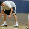 Hamilton: Chris Hamilton practices dribbling during practice at Hamilton-Wenham High School, the Generals are off to a 6-0 start this season. Photo by Mark Lorenz/Salem News