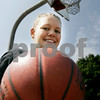 Beverly: Bishop Fenwick basketball player, Abby Poeske. Photo by Mark Lorenz/Salem News August 15, 2008