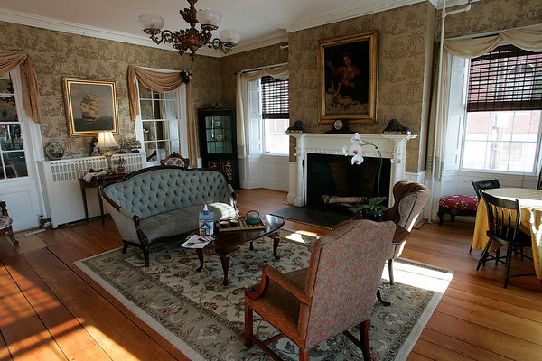 Salem: One of the quaint rooms at Brookhouse Home, which was the first residence for senior women in Salem, will be celebrating its 150th birthday. Photo by Mark Lorenz/Salem News