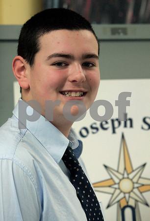 Salem: St. Joseph school student, Steven Koutrakis. Photo by Mark Lorenz/Salem News