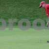 Boxford: Matt Cavanough of Ferncroft Country Club, Danvers putts in the 2nd hole during the North Shore Amateur Championship held at Far Corner Golf Club. Photo by Mark Lorenz/Salem News August 19, 2008