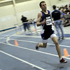 Peabody: Anthony Tedescussi takes the 1 mile run easily for Peabody over Beverly during meet. Photo by Mark Lorenz/Salem News