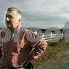 Danvers: Essex Aggie agriculture manager Cliff Taylor outside of the horse barn. The school won the 2009 Horse Farm of Distinction from the Massachusetts Farm Bureau. Photo by Mark Lorenz/Salem News