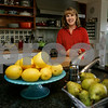 Hamilton: Barbara Parker in her Hamilton home's kitchen which is part of Wenham Museums Heart of the Home Kitchen Tour. Photo by Mark Lorenz