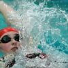 Wenham: Masco's Madison Kelly competes in the Medley against Hamilton-Wenham at Gordon College's Bennett Center pool. Photo by Mark Lorenz/Salem News