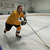 Peabody: Rick Middleton during 3 on 3 hockey at Pro Skills Training. Photo by Mark Lorenz/Salem News