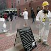 Salem: Halloween scenes in Salem along Pedestrian Mall. Photo by Mark Lorenz/Salem News