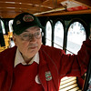 Salem: Ron Olson, trolly car driver. Photo by Mark Lorenz/Salem News