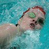 "Wenham: Masco's Julia O""Keefe competes at Gordon College's Bennett Center pool in the 200 freestyle in meet against Hamilton-Wenham High School. Photo by Mark Lorenz/Salem News"