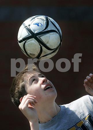 Topsfield: Masconomet soccer standout Brad MacDonald will be playing at Rogers Williams College in Bristol, R.I., next season. Photo by Mark Lorenz/Salem News