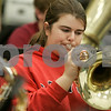 Salem: The Salem High concert band has been invited to perform at Carnegie Hall in March, and they're trying to raise money to get there.  Becca Hoskins, sophomore, practices under the guidance of Cyndi Napierkowski, band director. Photo by Mark Lorenz/Salem News
