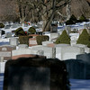 Salem: Greenlawn Cemetery off of Orne Street, Salem is running out of room. Photo by Mark Lorenz/Salem News