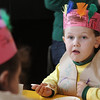 Beverly: Ryan McFadden enjoys his Thanksgiving meal, during the Thanksgiving Feast at Mrs. Alexander's School in Beverly. Photo by Mark Lorenz/Salem News