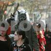 Salem: Halloween in Salem, as people move about along Pedestrrian Mall. Photo by Mark Lorenz/Salem News