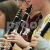 Ipswich: Clarinet players Cassandra Balzar, left, and Katie Johnson rehearse during class at Ipswich High School. Photo by Mark Lorenz/Salem News