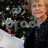 "Ipswich: Sonja ""Sunny"" Dahlgren Pryor is the conductor of Chorus North Shore, which will put on its annual holiday concert, ""A Celebration of Christmas,"" on Dec. 12 and Dec. 13. This is her 47th year as conductor. Photo by Mark Lorenz/Salem News"