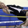 """Peabody: Beverly's Kyra Richardson clears 4'8 """" in meet against Peabody. Photo by Mark Lorenz/Salem News"""