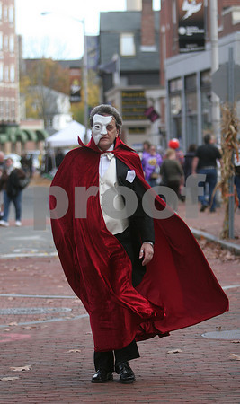 Salem: Halloween scenes in Salem. Photo by Mark Lorenz/Salem News
