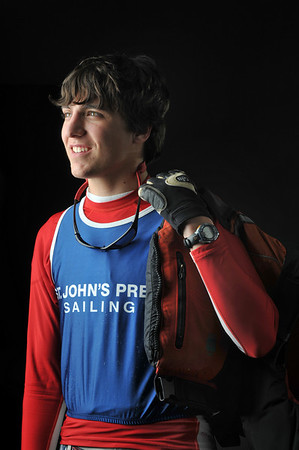 2011 Student Athlete nominee:  John Gram Slattery, St. John's Prep. photo by Mark Teiwes / Salem News