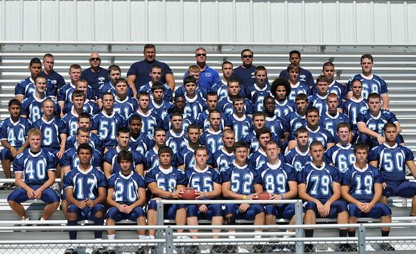 Peabody: 2010 Peabody High School football team.  photo by Mark Teiwes / Salem News