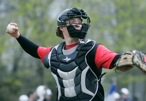 Marblehead: Marblehead High School catcher.  Mark Teiwes / Salem News