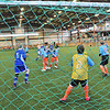 Topsfield: U12 Danvers and Topsfield boys teams play at the Topsfield Fairground areana. photo by Mark Teiwes  / Salem News