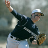 Danvers: Swampcott pitcher Sean O'Brien releases some heat.  photo by Mark Teiwes / Salem News