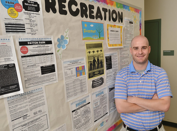 Hamilton: Sean Timmons is the new recreation director for Hamilton-Wenham. photo by Mark Teiwes / Salem News
