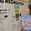 Hamilton: Sean Timmons is the new recreation director for Hamilton-Wenham. photo by Mark Teiwes / Salem News