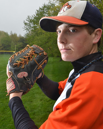 Ipwich: Ipswich High School baseball player Will Corkum. photo by Mark Teiwes / Salem News
