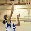 Peabody: Peabody captain MaryKate Helas makes a layup.  photo by Mark Teiwes / Salem News