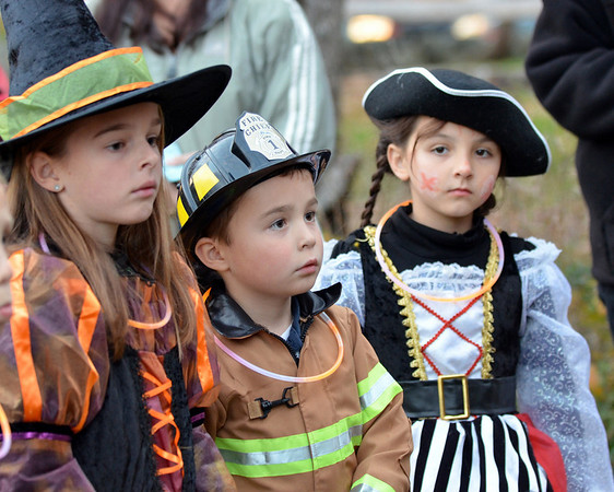 Topsfield: From left, Emily Hardy, her brother Justin, 6, and Isabella Juliano, 6.