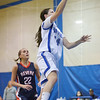 Danvers: Danvers Sara Palazola makes a breakaway layup.  photo by Mark Teiwes  / Salem News