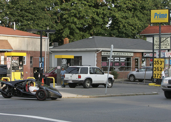 Salem: Prime Energy gas station at 175 Lafayette St. photo by Mark Teiwes / Salem News