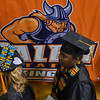 Salem: Graduates proceed to Salem State University's commencement program.  photo by Mark Teiwes / Salem News