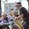 Salem: Charles Neville performs with the Harvey Diamond Quartet during the Salem Jazz and Soul Festival at the Salem Willows.    photo by Mark Teiwes /  Salem News