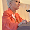 Danvers: Sandra Fenwick, president of Children's Hospital.  photo by Mark Teiwes  / Salem News