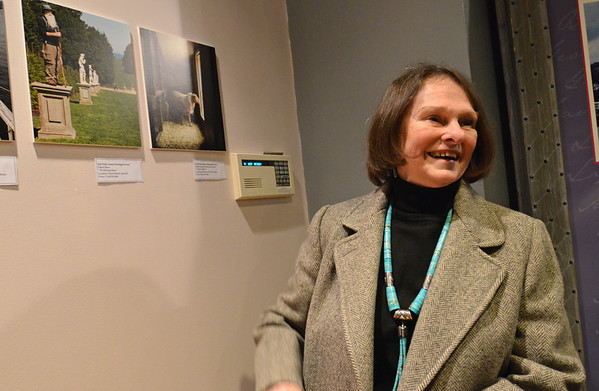 """Salem: Nancy Shaw's photo """"The Missing Muse"""", left, was chosen for the Essex Heritage photo contest.  photo by Mark Teiwes  / Salem News"""