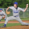 Saugus: Danvers 15-year-old Babe Ruth all-star pitcher Brandon Hyde throws a strike out.  photo by Mark Teiwes / Salem News