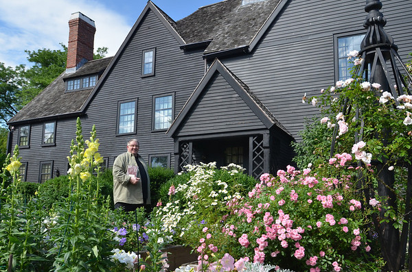 "Salem: A reading of the entire book, ""House of the Seven Gables"" is scheduled for July 4, Nathaniel Hawthorne's  birthday at the house which inspired the novel.  The property's currator, Alan Collachicco will read the final pages.  photo by Mark Teiwes / Salem News"