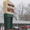 Ipsiwch: The Whittier Motel's new owner Roger Lablanc of Ipswich is working on renovating and updating the rooms.  The motel is still open for business during the renovations.  photo by Mark Teiwes / Salem News
