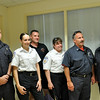 Salem:  Members of the Salem Fire Department and the Atlantic Ambulance responded to a call assisting with the birth .  Pictured from left, Matt Dapisse, Crystal Epstein, Paul Michaud, Cheryl McCaffrey, Capt. Dennis Levasseur, and Heather Ortins. photo by Mark Teiwes / Salem News