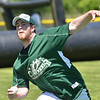 Hamilton: A change-up, drop, riser, slider, and screwball are in the arsenal of wiffle ball pitcher Brian Adam of Peabody.  photo by Mark Teiwes / Salem News