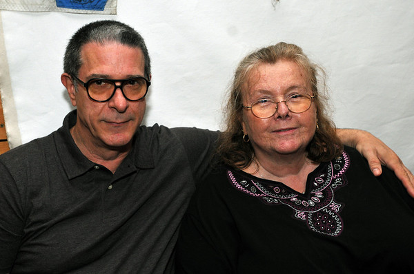 Salem:Nicholas and Linda Rowe celebrate the school's 30th anniversary.