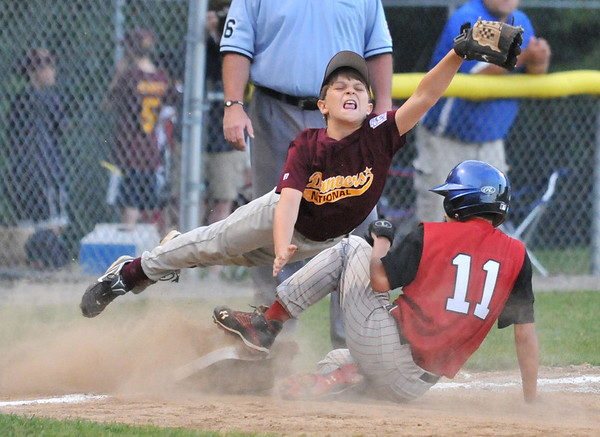 Beverly: Danvers National little league player photo by Mark Teiwes  / Salem News