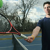 Danvers: St. John's Prep tennis captain John Corvi.  photo by Mark Teiwes / Salem News