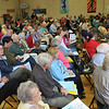 Wenham: Residents meet for the Wenham town meeting at Buker School. Mark Teiwes / Salem News