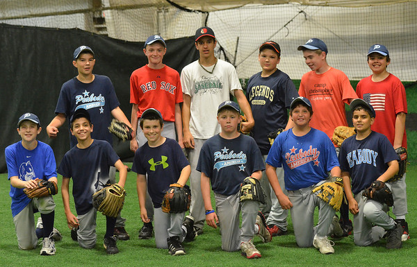 Peabody:  Peabody American Little League all-star team.  photo by Mark Teiwes / Salem News
